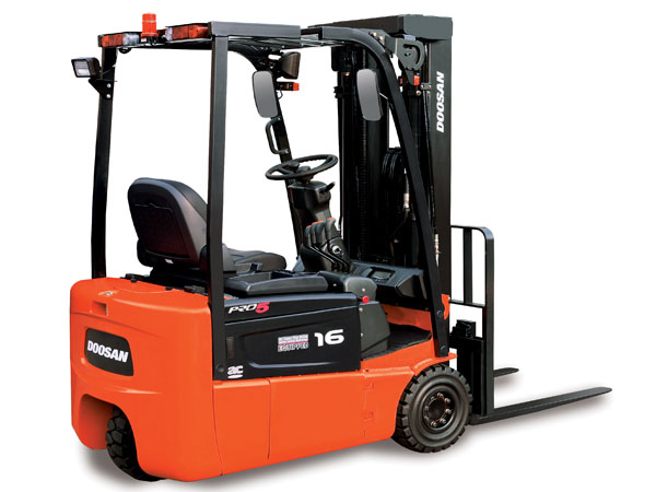 Doosan Electric Forklift 2,000 - 3,200 lb Electric (24V Rear Wheel Drive)