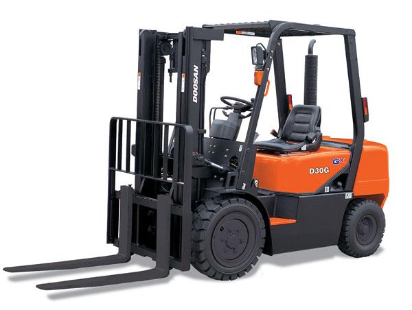 Doosan Forklift 4,000 -6,000 lb GX Series