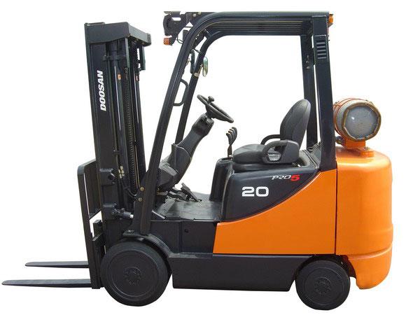 Doosan Forklift 4,000 - 6,500 lb Internal Combustion Cushion Series