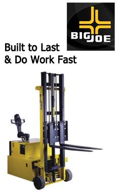 Big Joe Forklifts San Diego, Big Joe Pallet Trucks